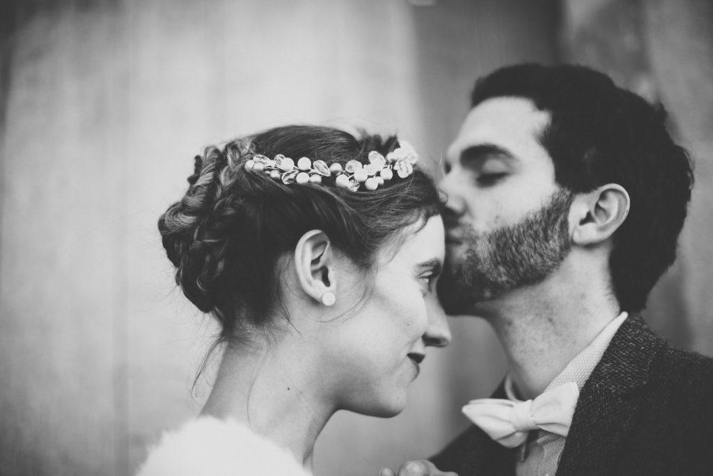 Photos de couple hiver // Photo : Aude Arnaud Photography