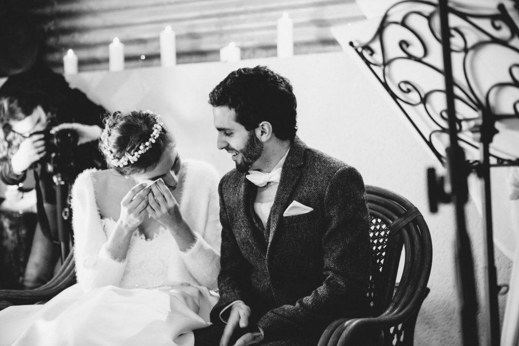 Mon mariage d'hiver tendre et magique : une cérémonie laïque pleine d'émotions – Partie 1