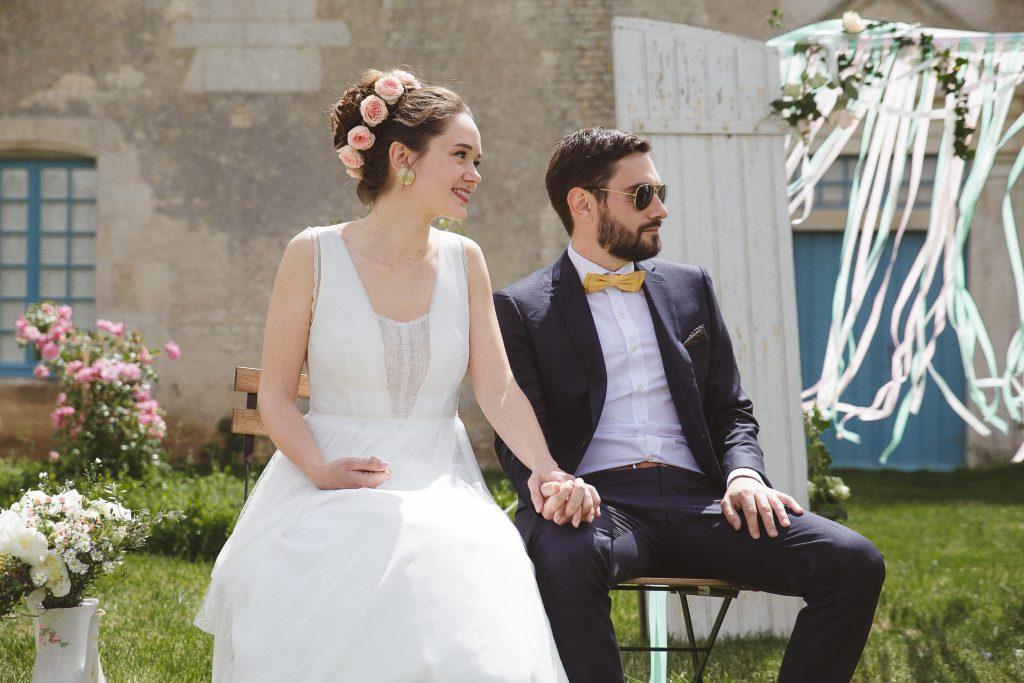 Mon mariage dino-chic : la cérémonie – Partie 1