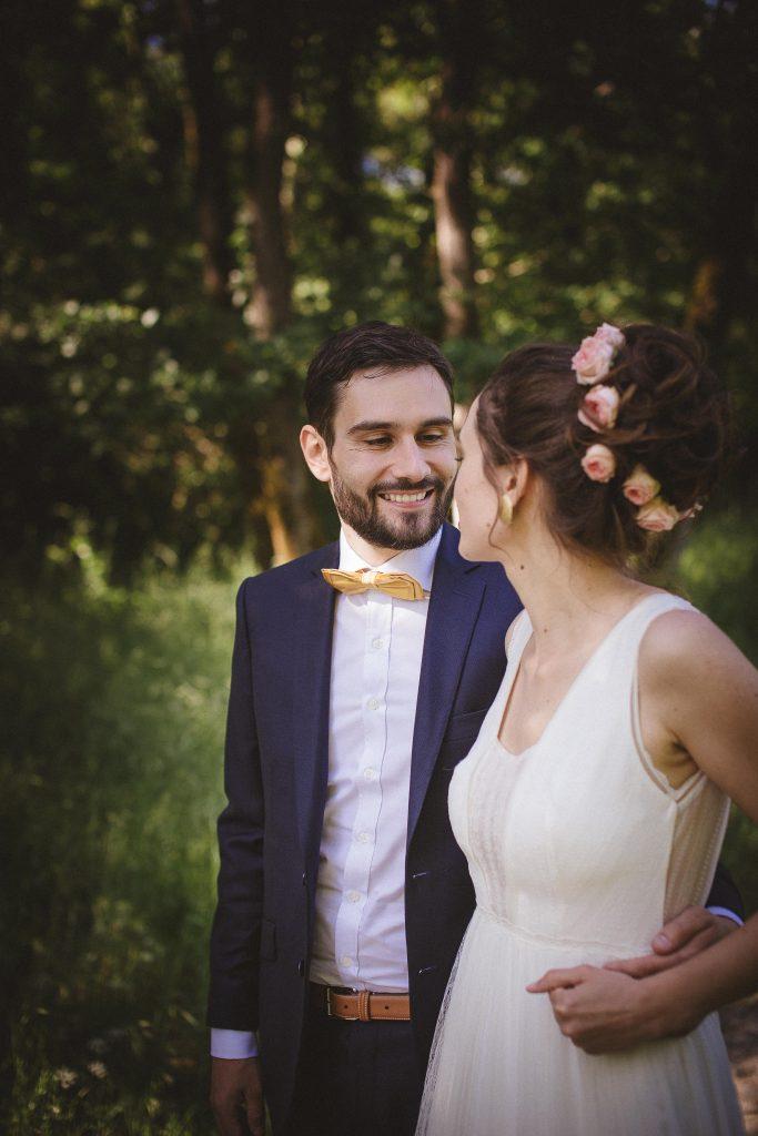 Nos photos de couple dans la forêt // Photo : La Femme Gribouillage