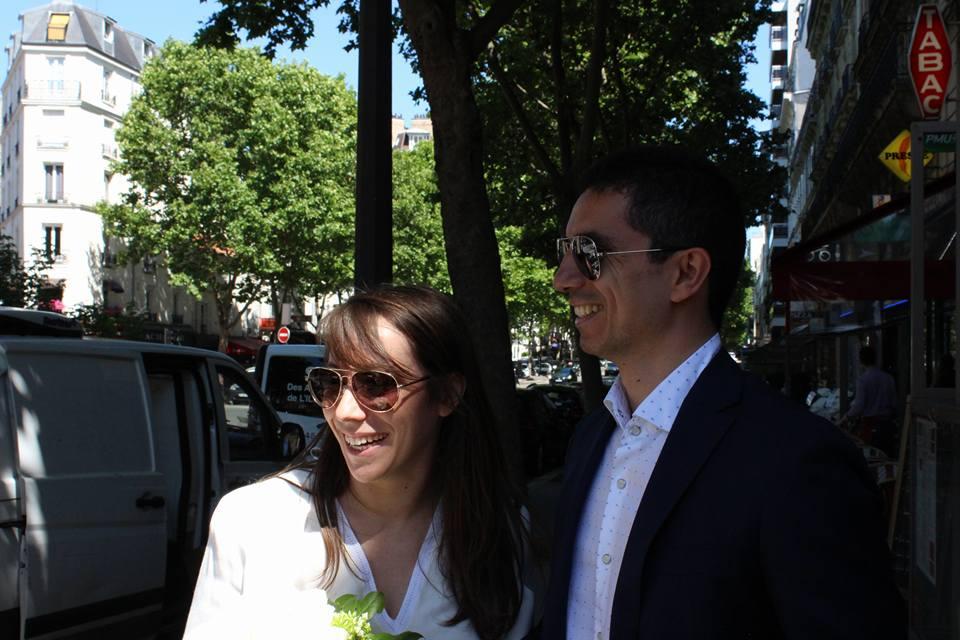 Mon mariage civil à Paris