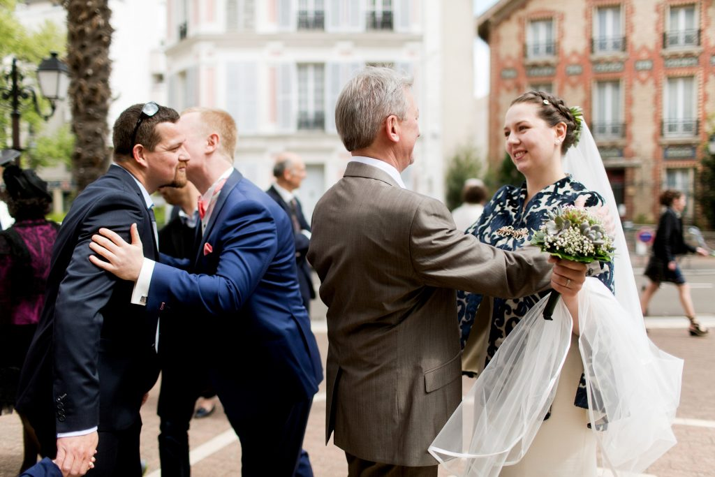 Mariage à la mairie de Saint-Cloud // Photo : Samonov Brothers