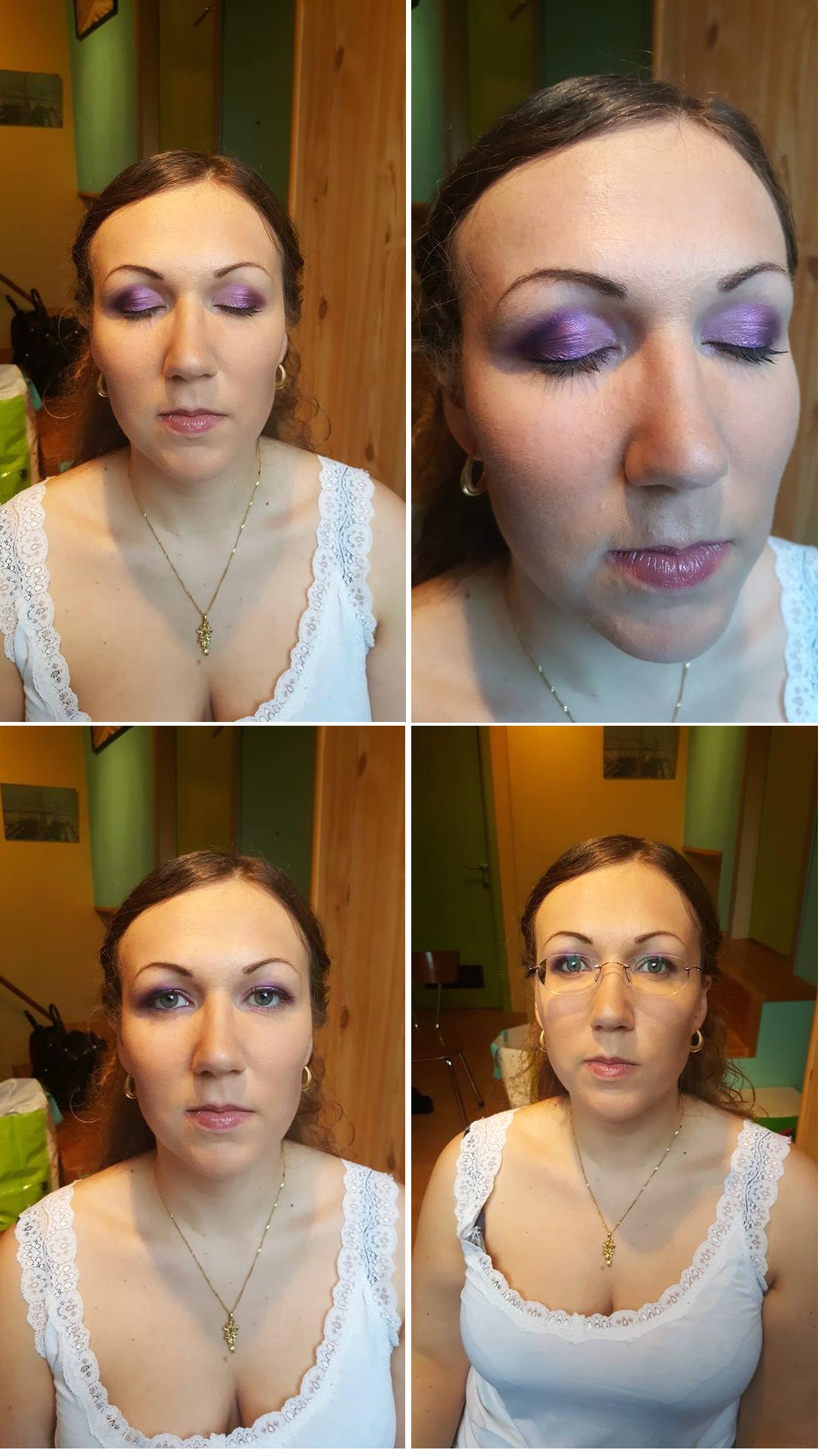 Essai maquillage Mlle Ophrys