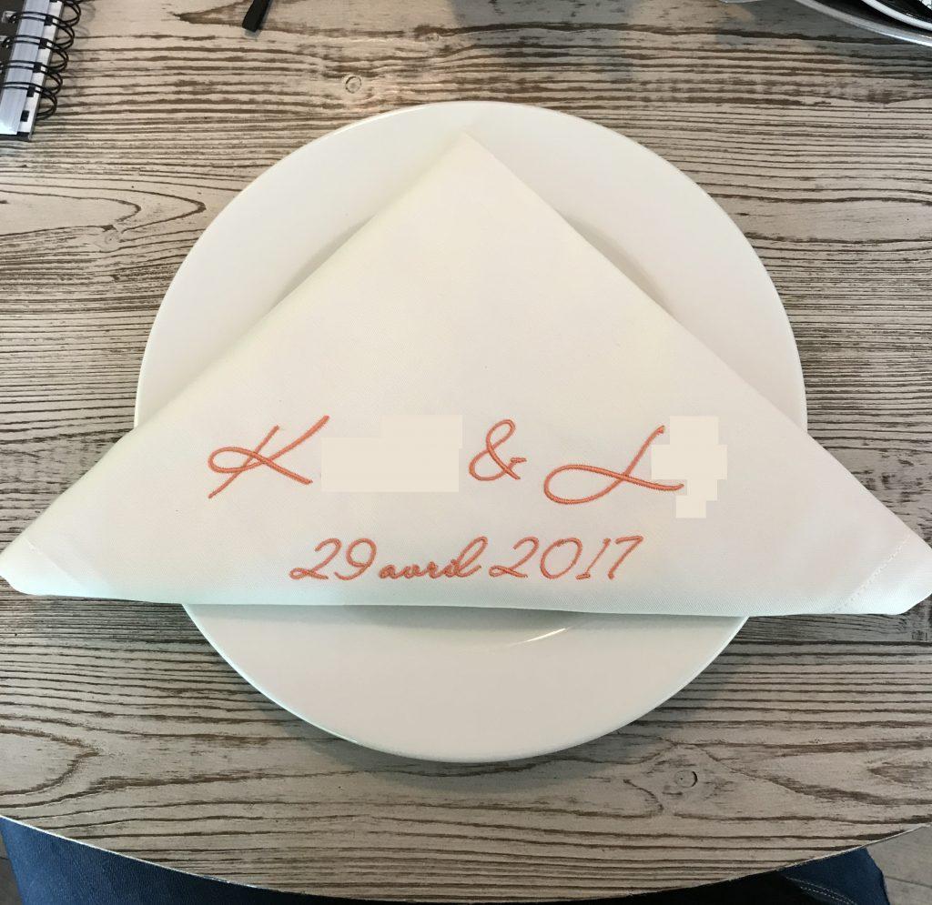 La décoration de notre mariage