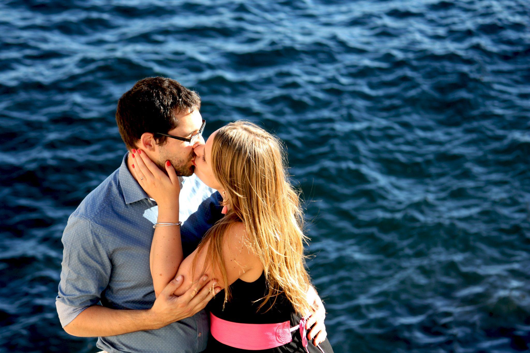 Notre séance d'engagement en bord de mer