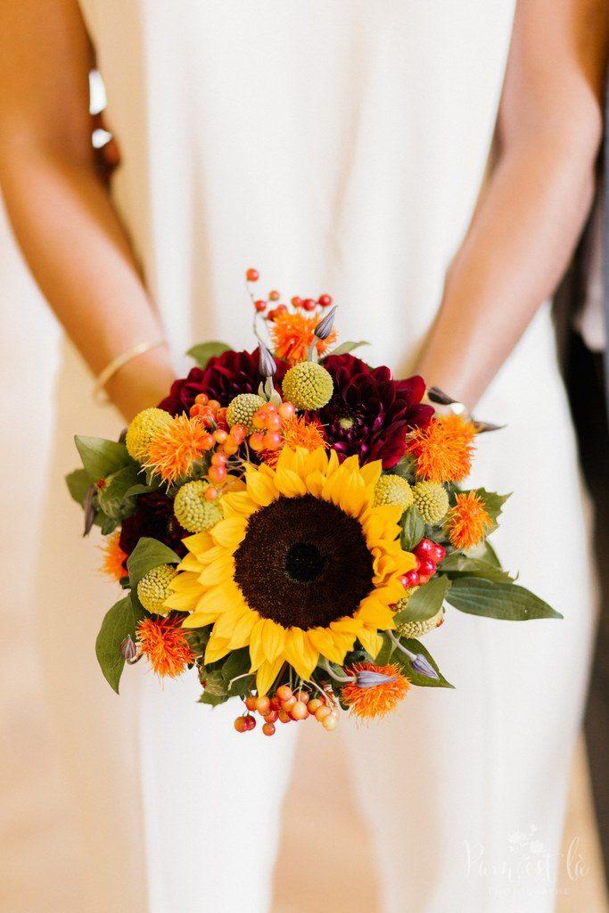 Mon bouquet de mariée coloré // Photo : Pam est là - Photographe