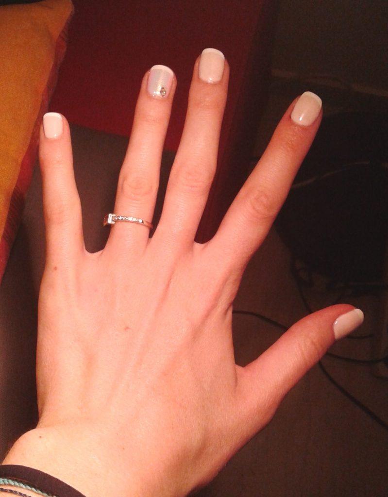 Manucure de mariage