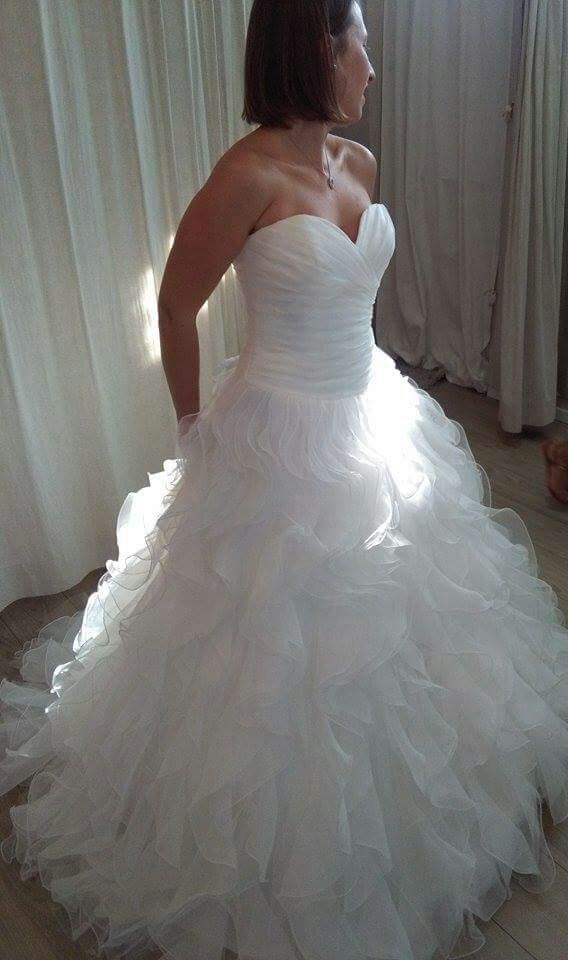 Trouver une robe de mariée à froufrous