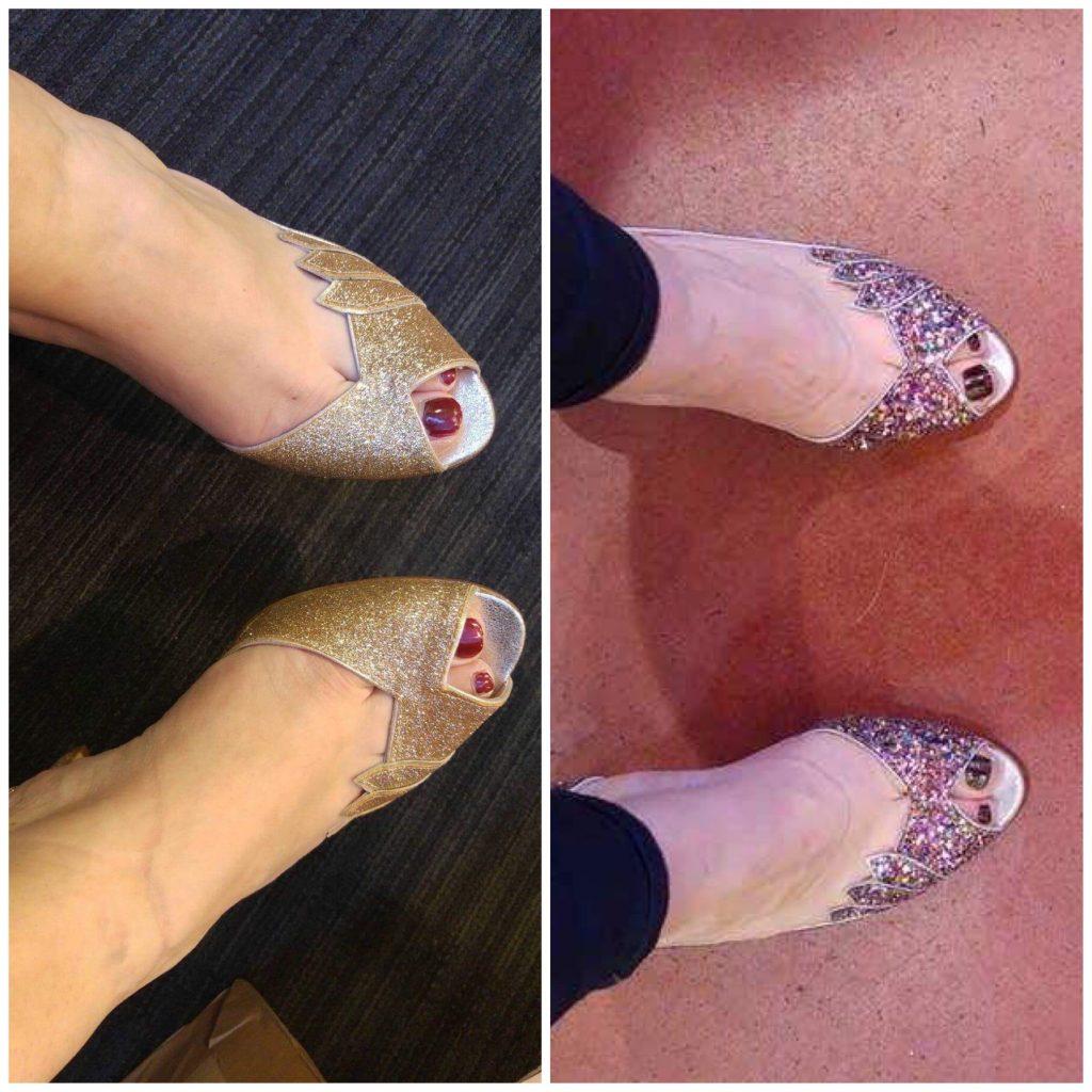 Le choix de mes chaussures de mariée