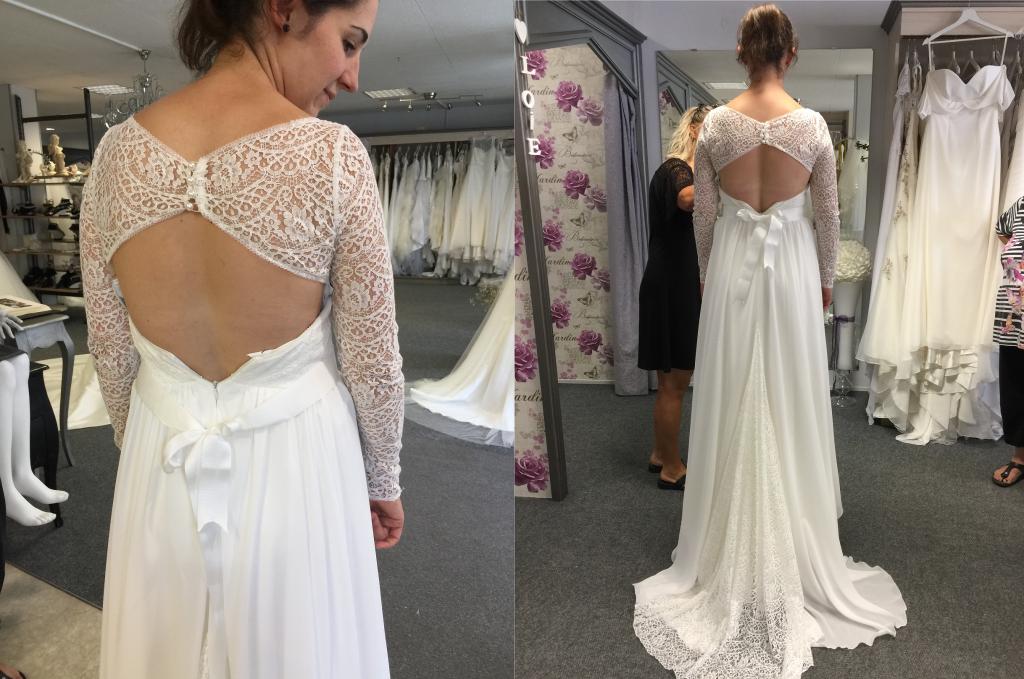 Quand on court après sa robe de mariée – Partie 5 : le quatrième essayage ou le dénouement !