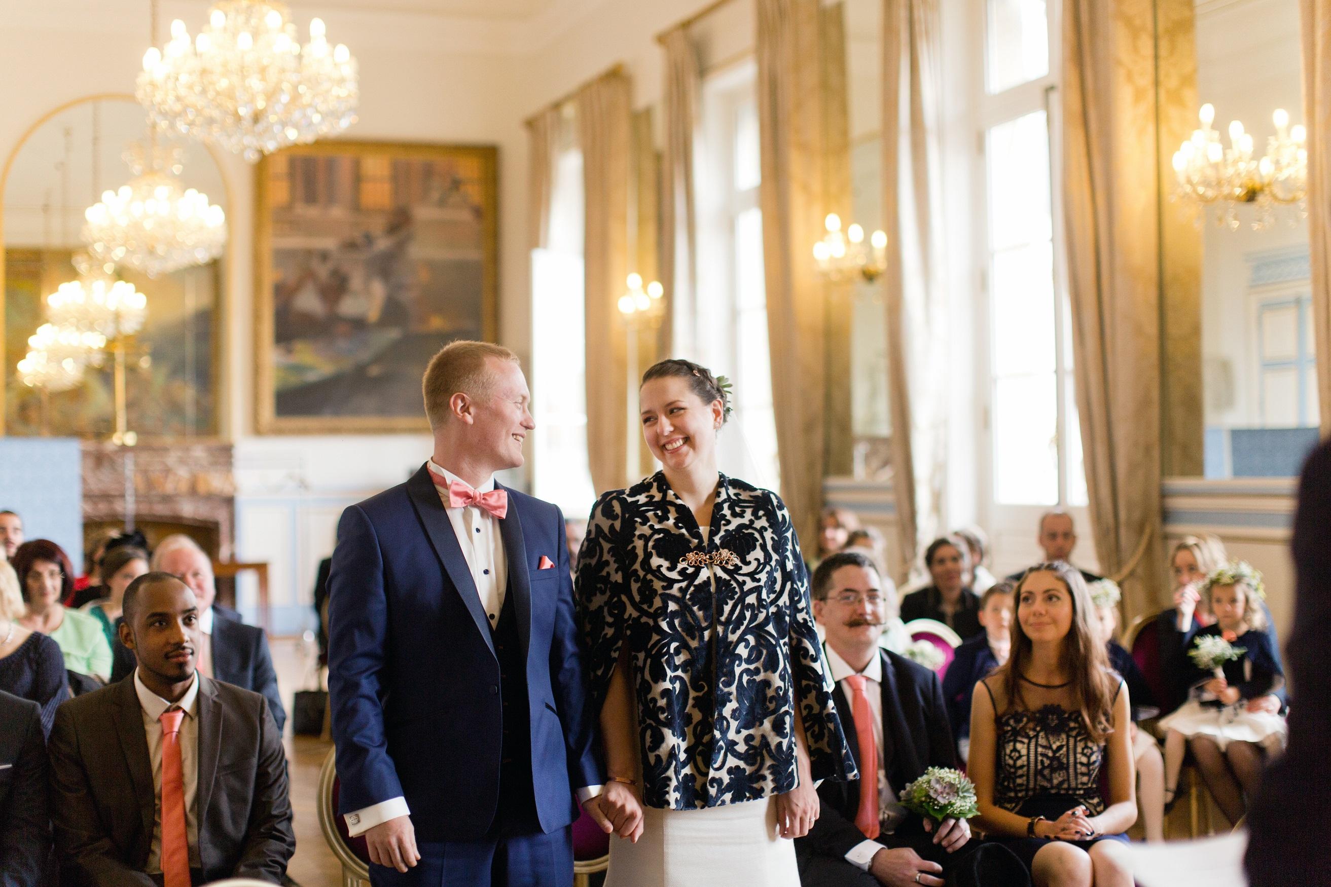 Mon mariage bilingue en cuivre et succulentes : c'est l'heure d'aller rendre visite à Monsieur le Maire