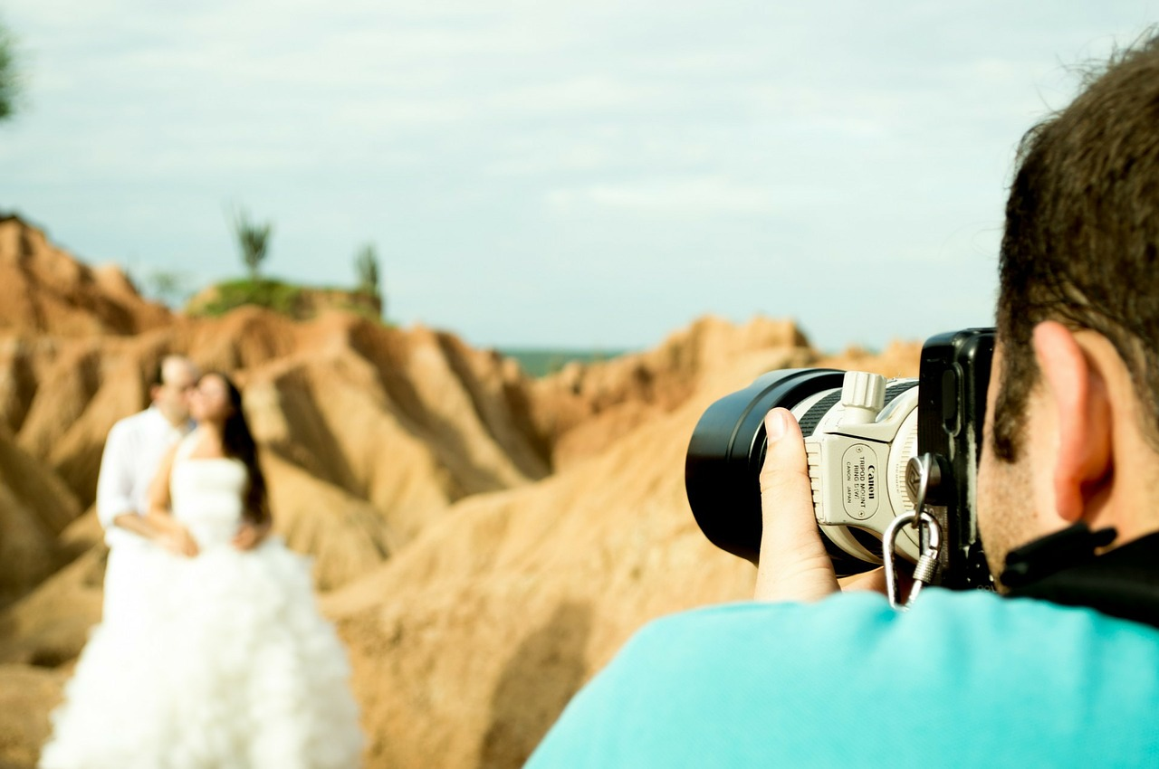 Choisir un ami comme photographe de mariage