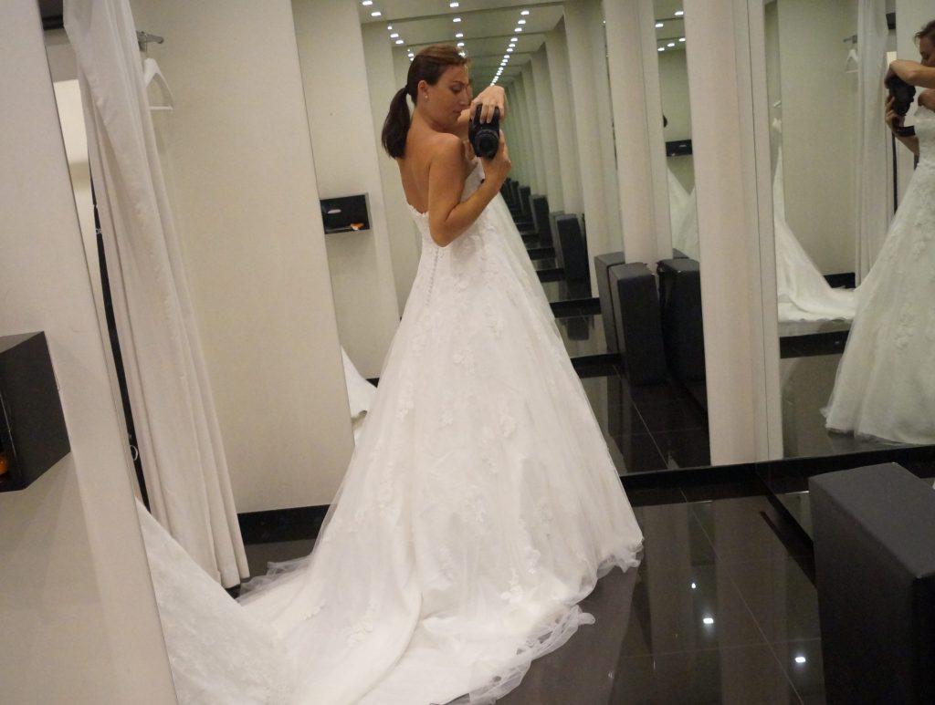 Objectif n°3 : trouver la robe de mes rêves – Les premiers essayages