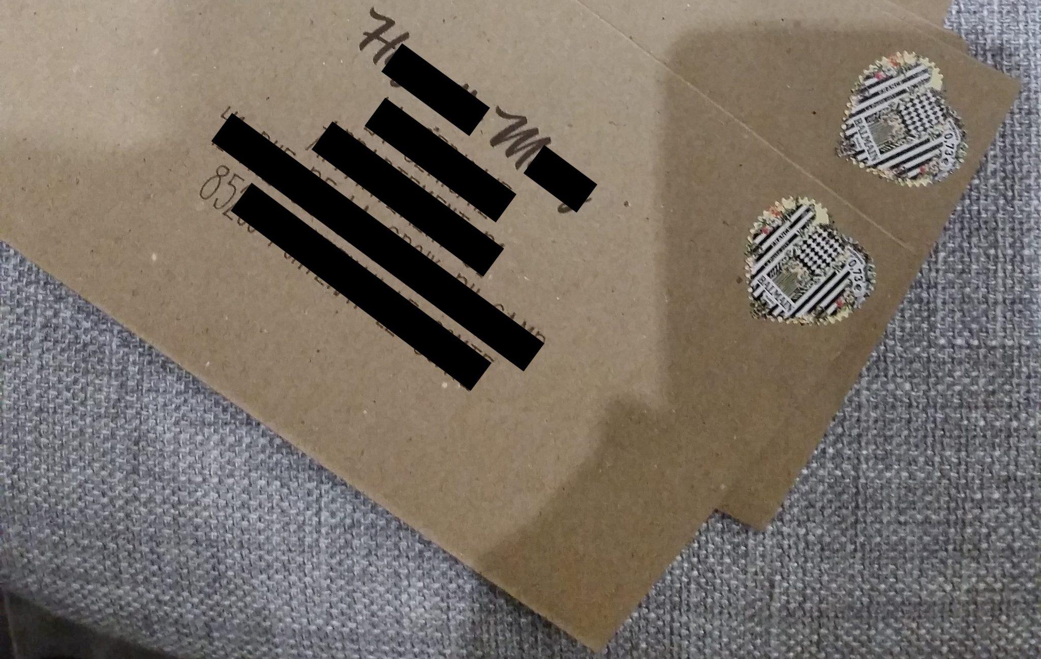 Faire-part simple kraft DIY