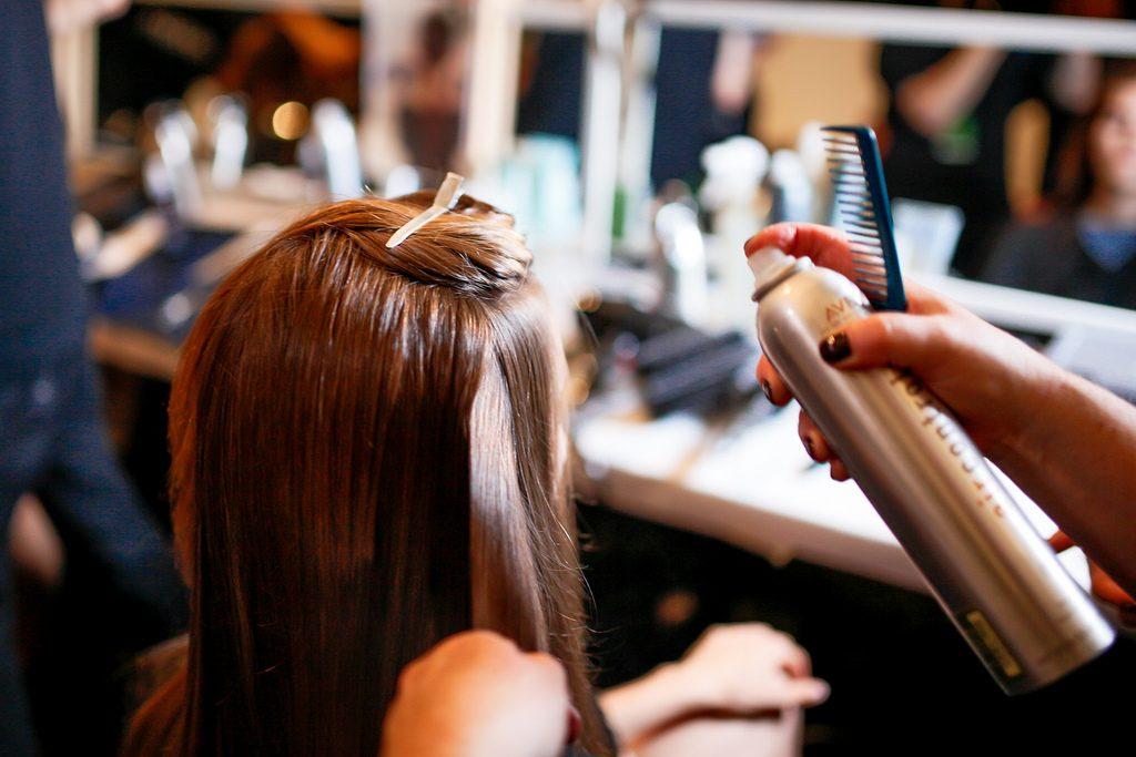 Soins pour cheveux pour le mariage