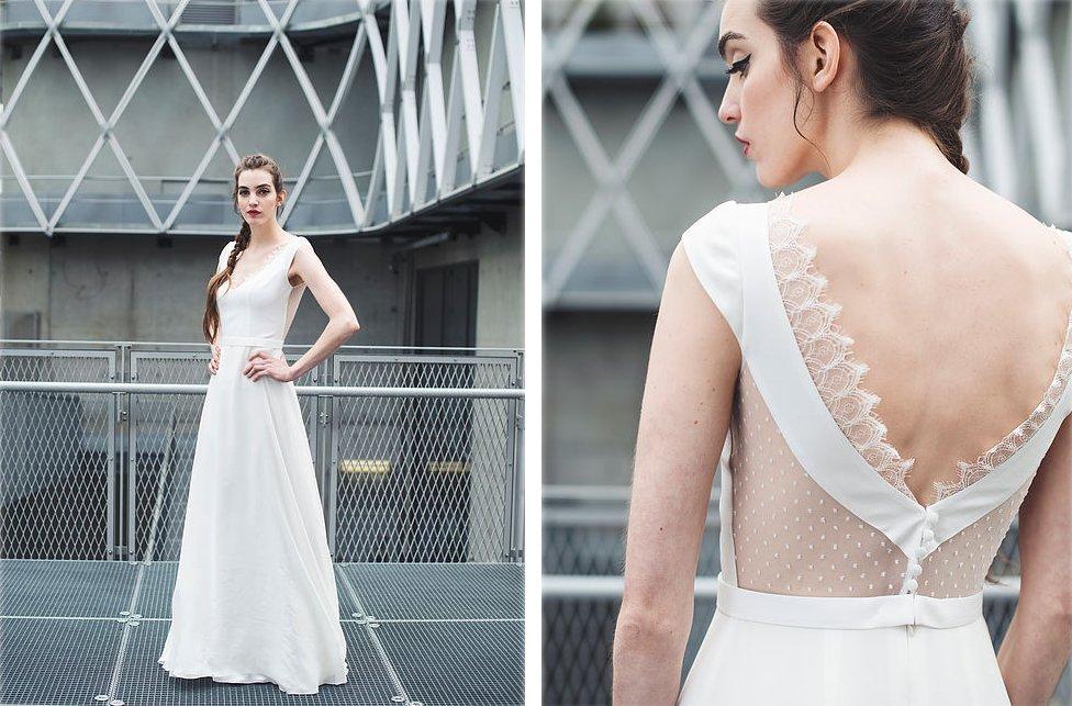 Robe de mariée bohème Mademoiselle de Guise