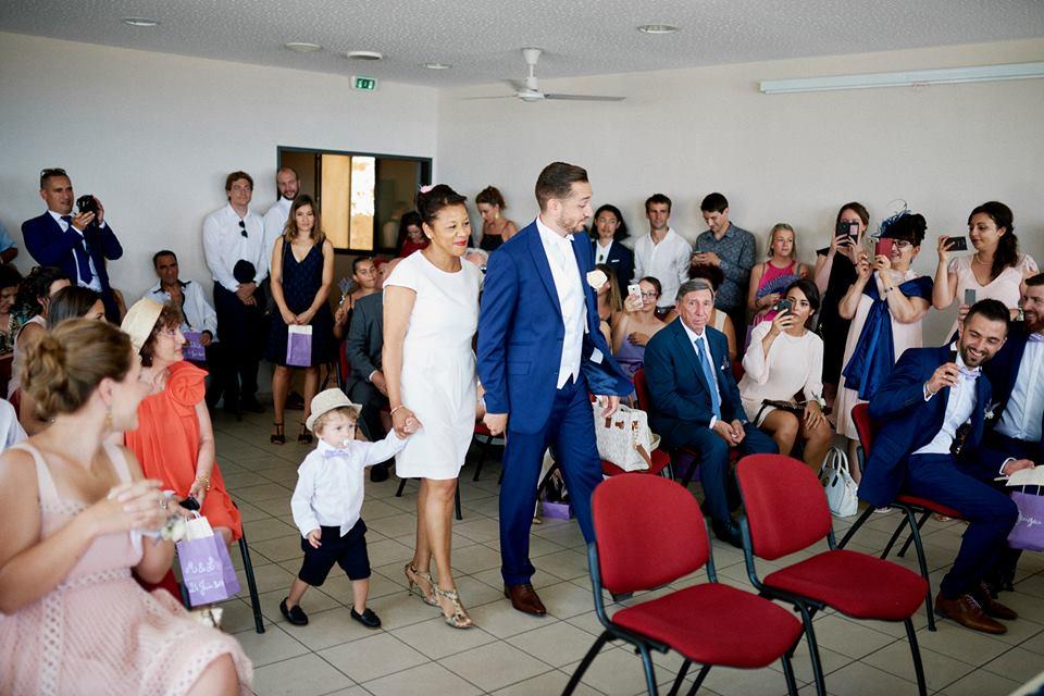 Notre cérémonie civile // Photo : Happy People