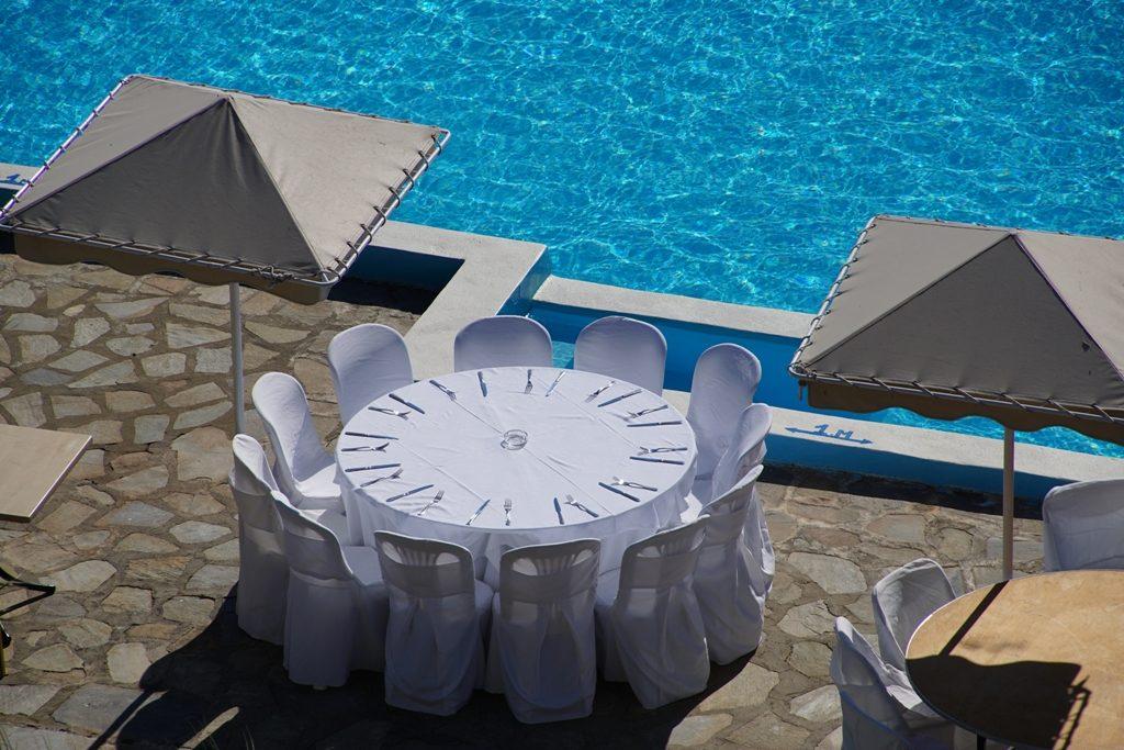 Mes préparatifs du matin pour mon mariage en Grèce