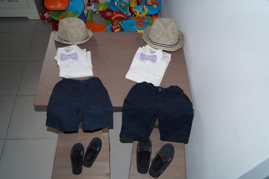 Les tenues de mes enfants au mariage