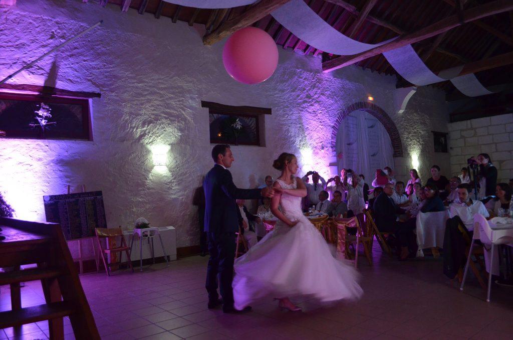 Notre soirée de mariage : repas, animation et mauvais DJ // Photo : @stephusa35