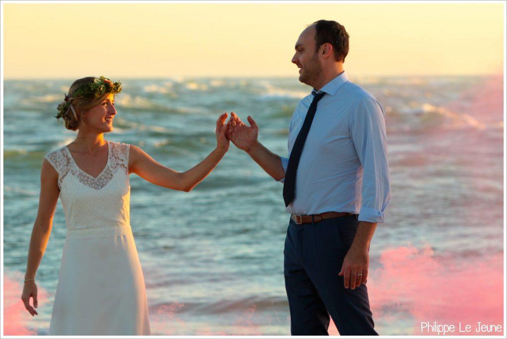 Mon mariage de fin d'été : nos photos day after sur la côte Atlantique