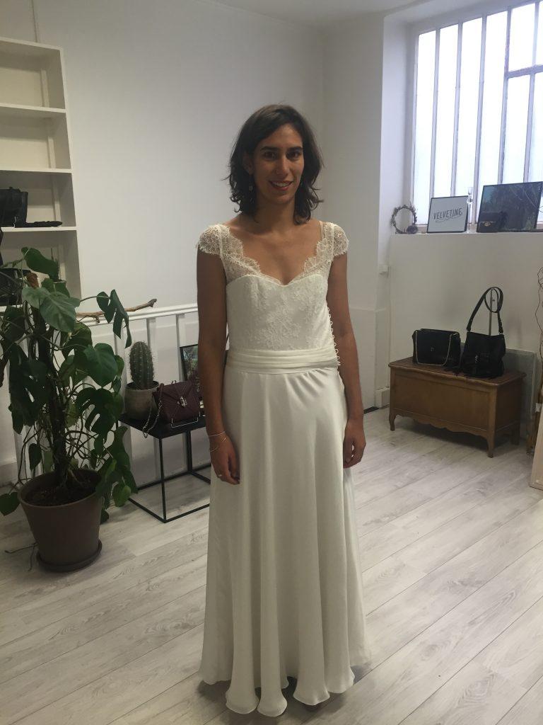 La confection de ma robe bohème sur mesure