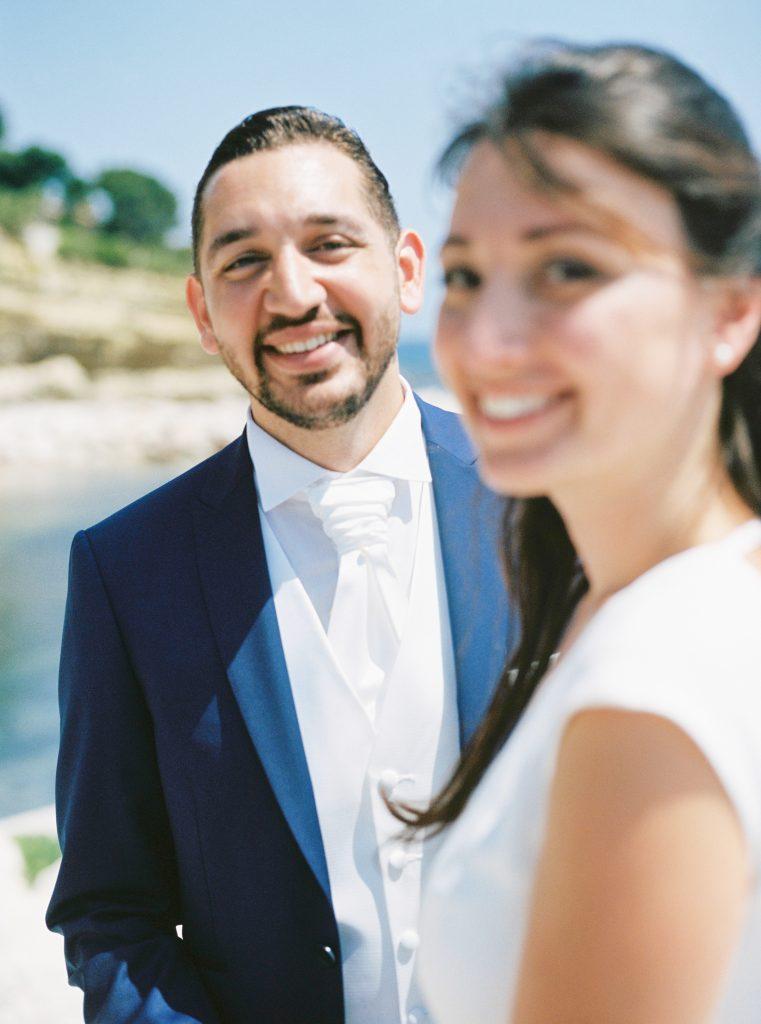 Nos photos après la mairie sur les falaises // Photo : Happy People