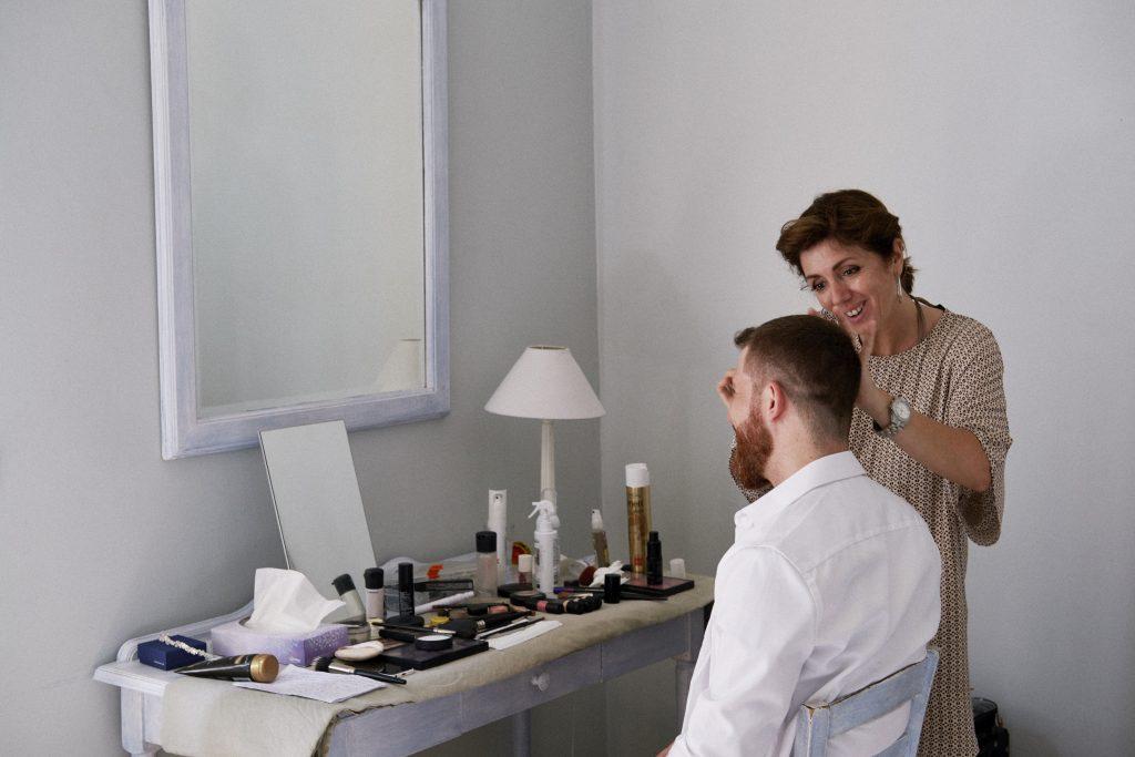 Les préparatifs le matin du mariage // Photo : Happy People