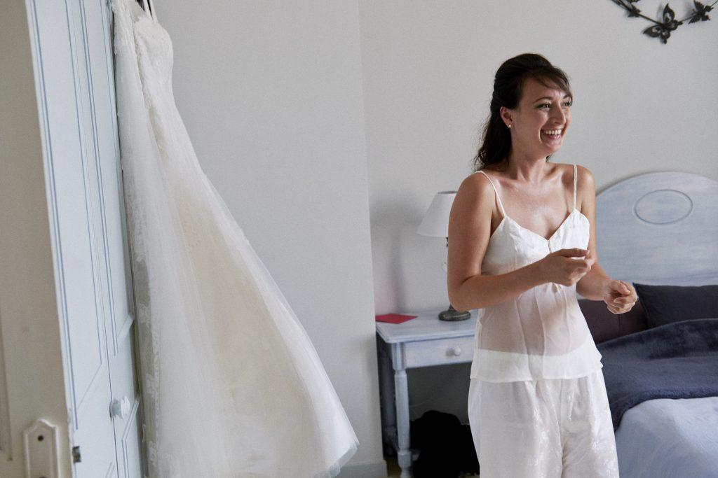 Mes préparatifs du matin du mariage // Photo : Happy People