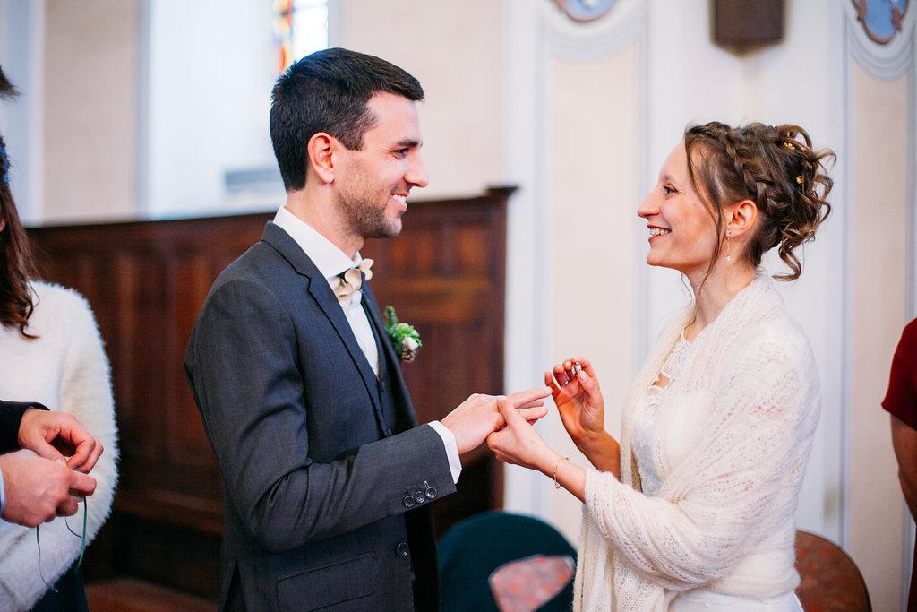 Mon mariage d'hiver presque-à-la-montagne : la célébration