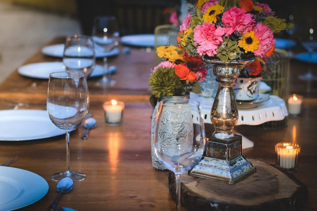Choisir un repas de mariage
