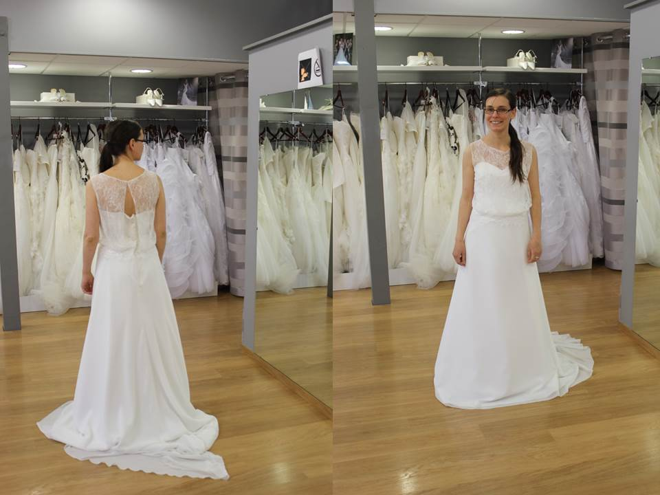 Mes essais de robes de mariée bon marché