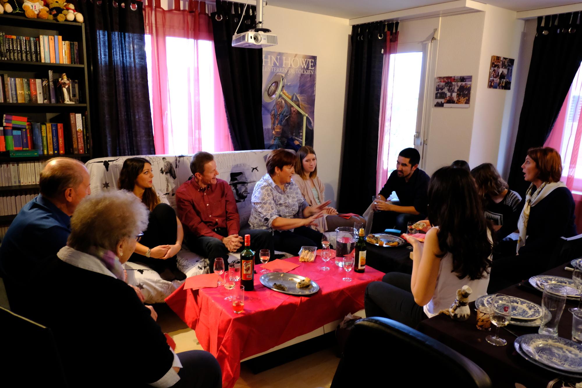 M-10 & M-9 (novembre & décembre), notre repas de fiançailles suivi de bouleversements familiaux
