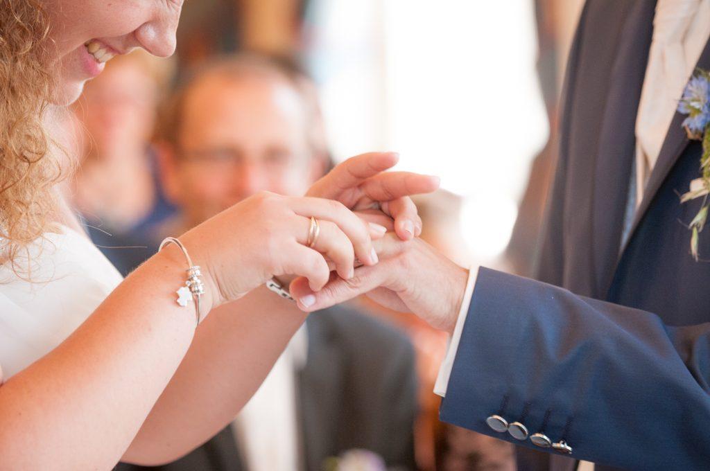 Mon mariage champêtre saupoudré de touches geek : notre cérémonie civile