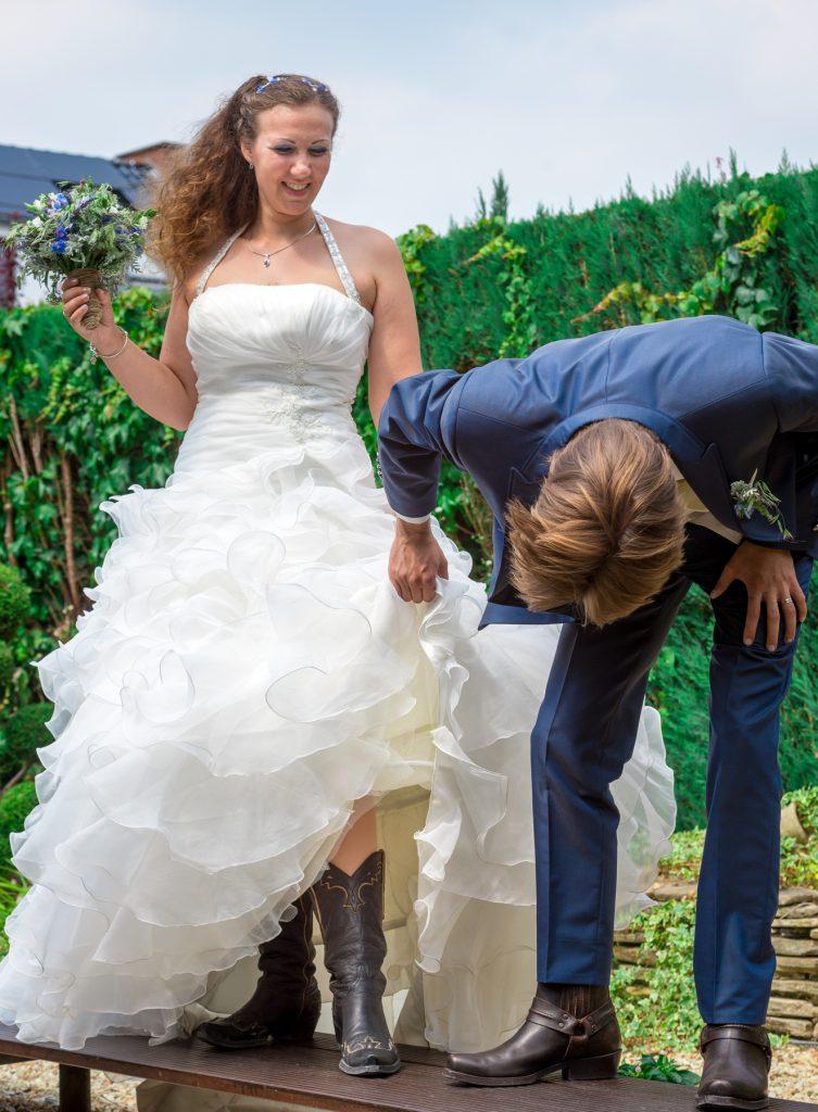 Nos photos de couple décalées // Photo : UltraSpider Wedding