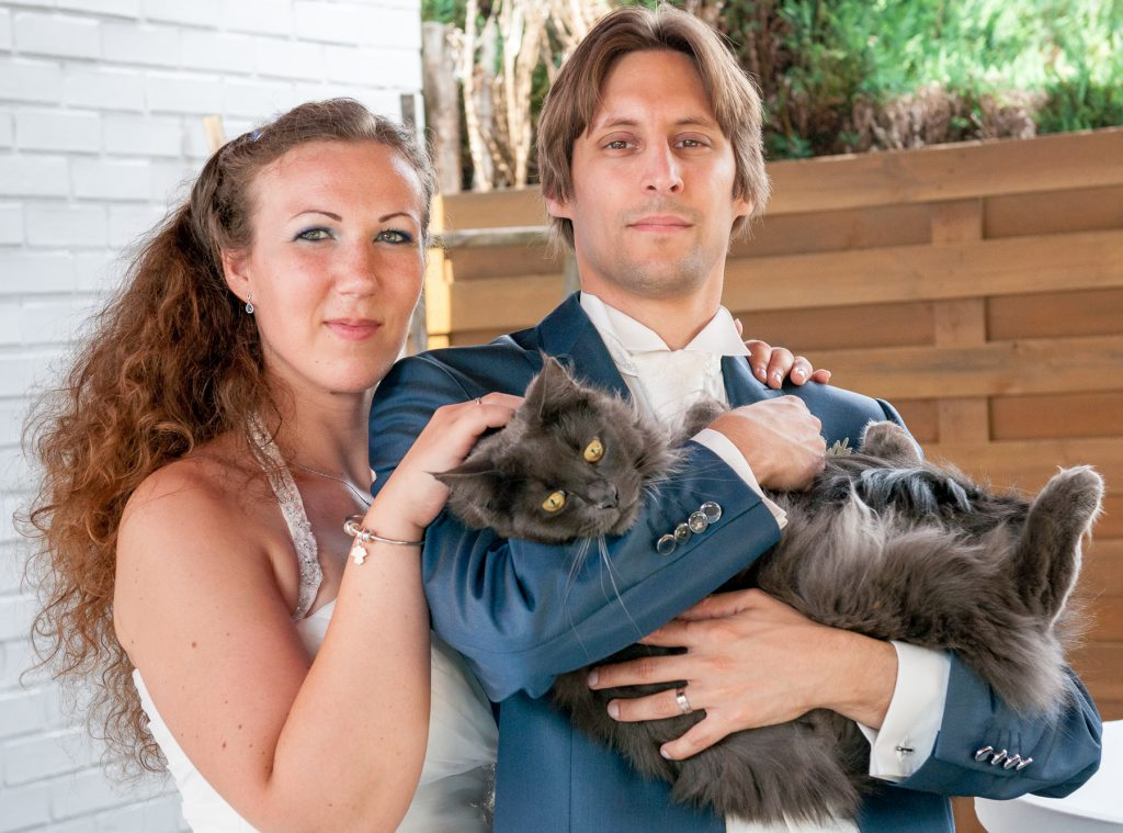 Nos photos de couple avec nos animaux // Photo : UltraSpider Wedding