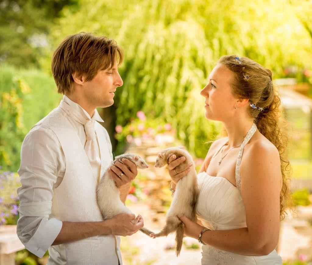Nos photos de couple avec nos animaux // Photo : UltraSpider Wedding