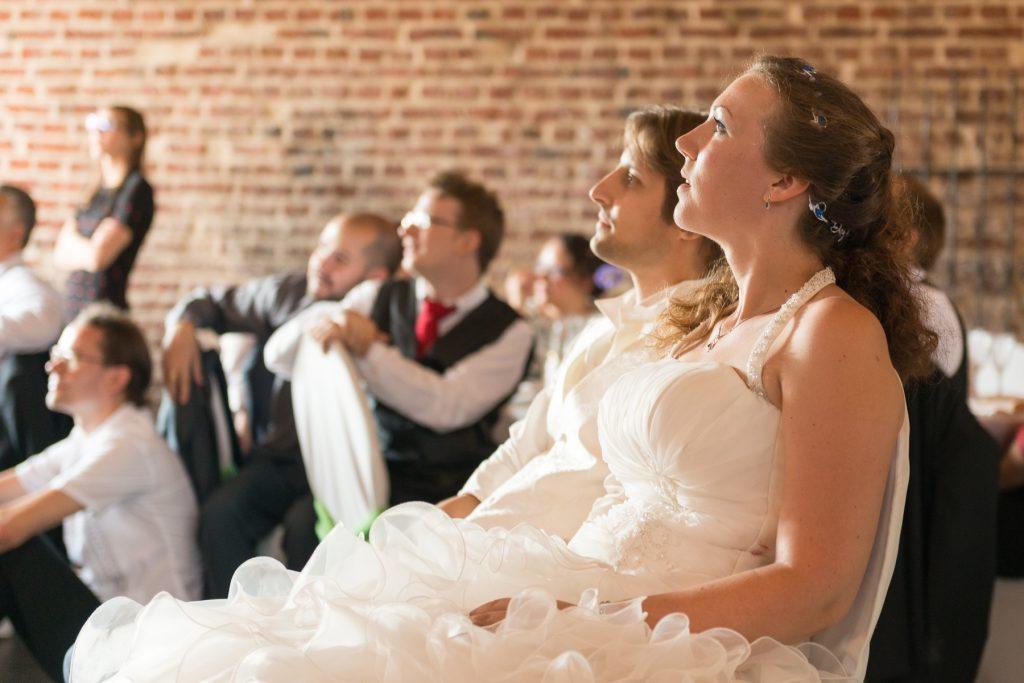 Les surprises de mon début de soirée de mariage // Photo : UltraSpider Wedding