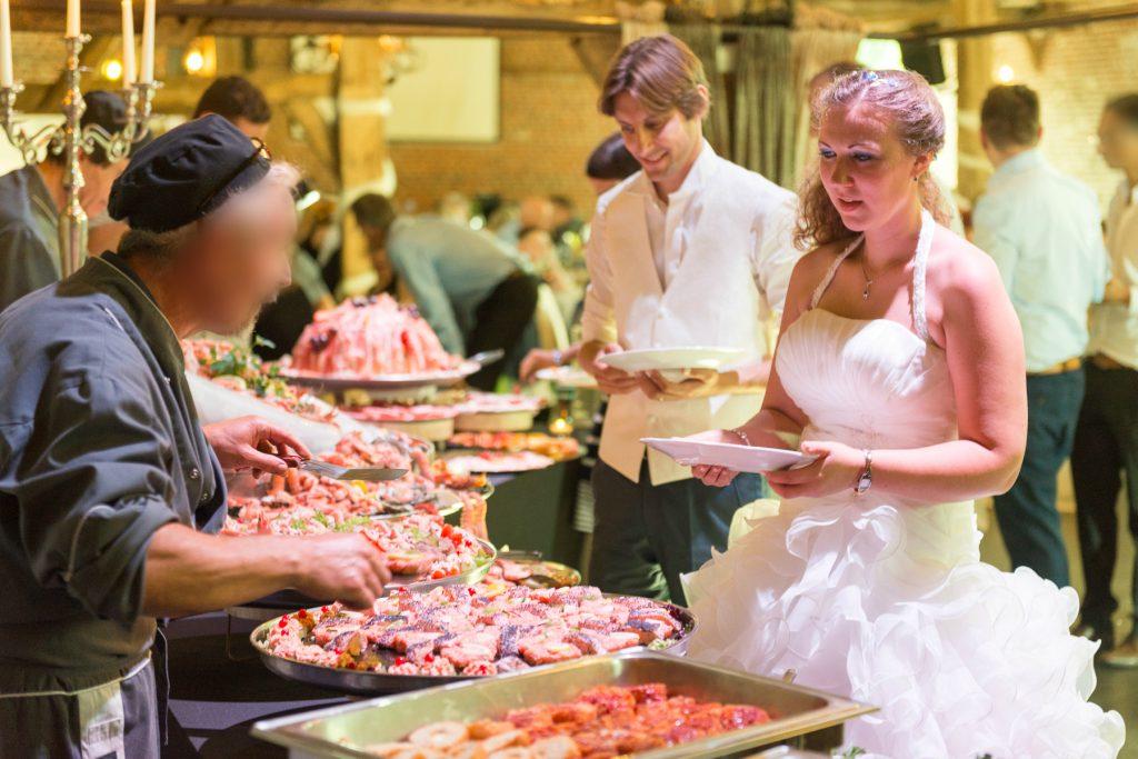 Notre repas de mariage // Photo : UltraSpider Wedding