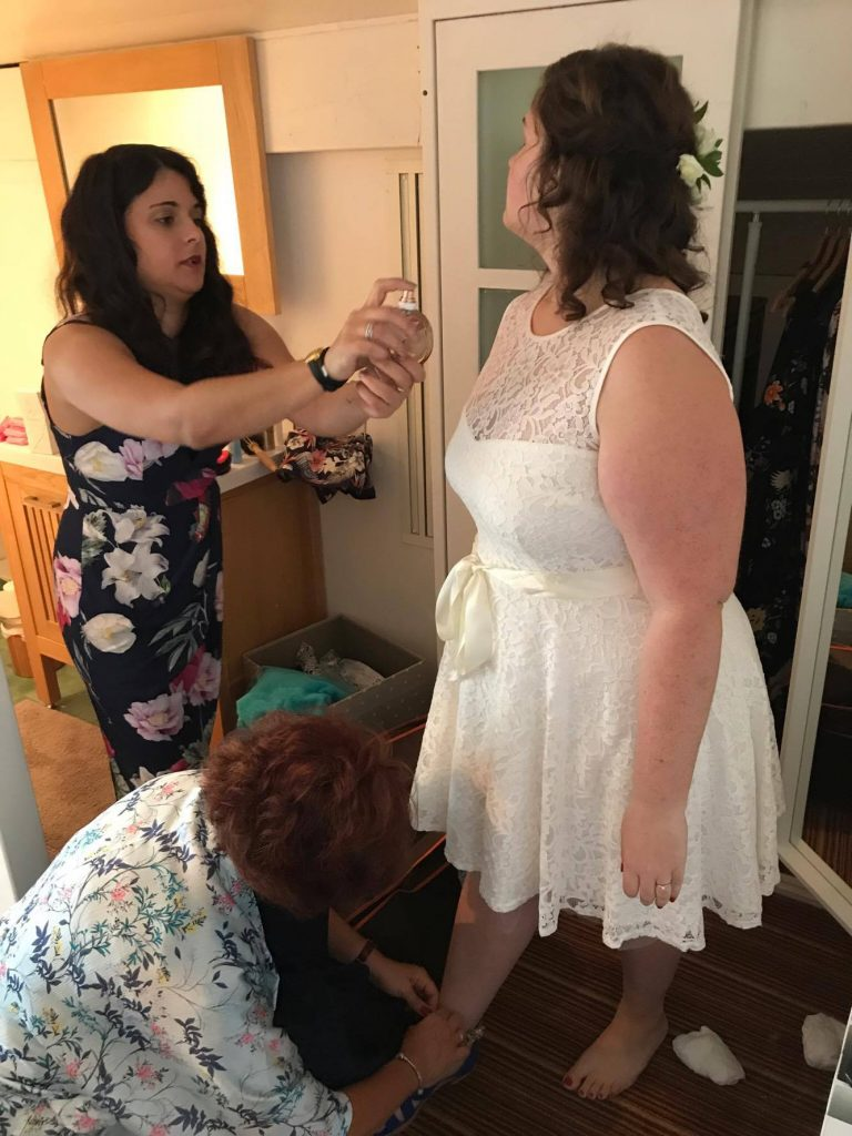 Les préparatifs de mon mariage civil