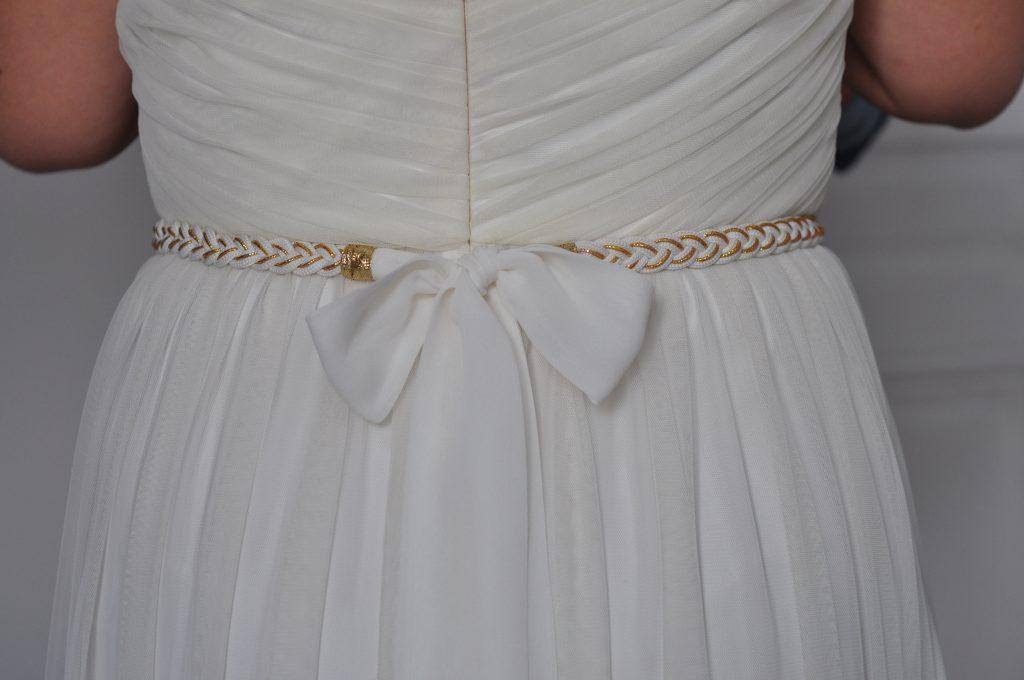 Mes accessoires dorés pour mon mariage
