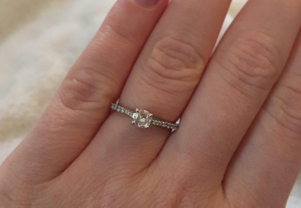 Ma demande en mariage très attendue et inattendue
