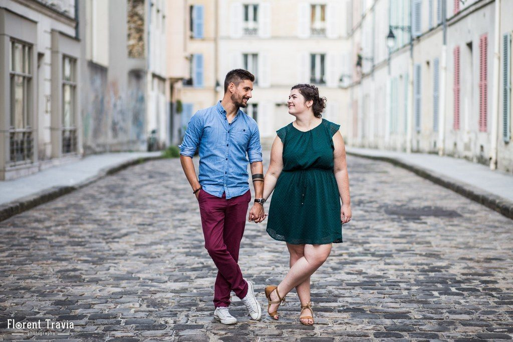 Pourquoi faire une séance d'engagement // Photo : Florent Travia