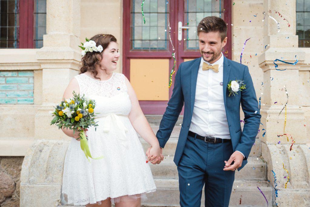 Notre mariage civil très drôle et personnalisé // Photo : Jonathan Mieze