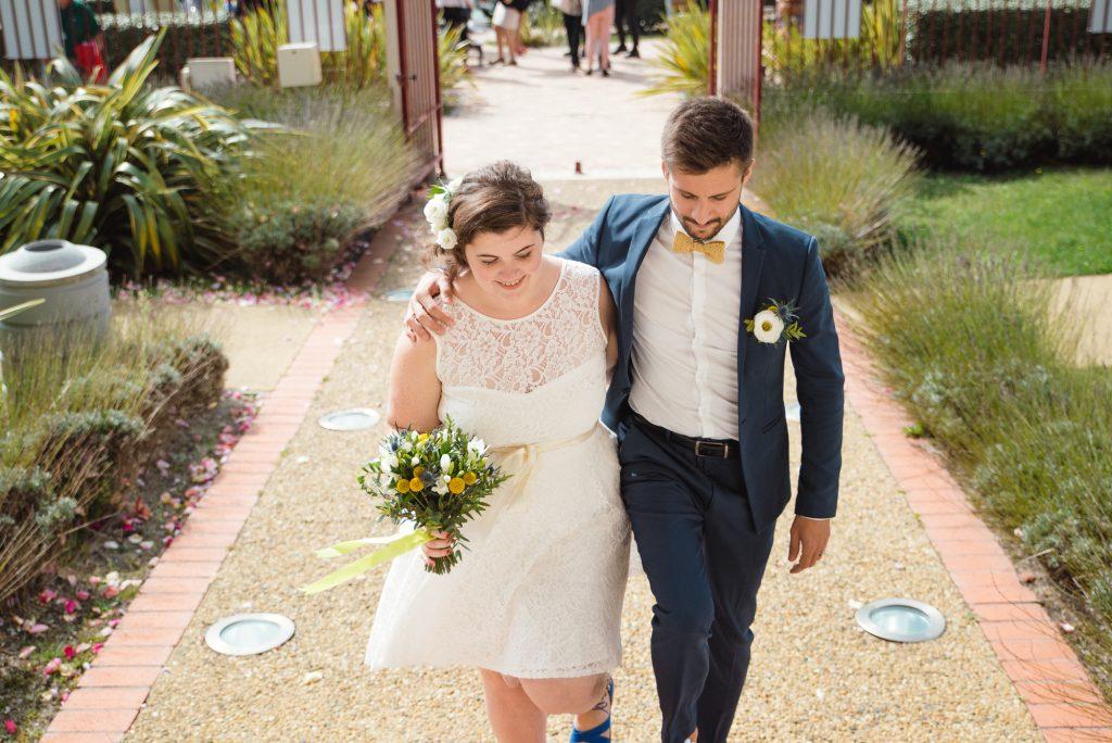 Mon mariage civil au bord de l'océan : l'arrivée à la mairie