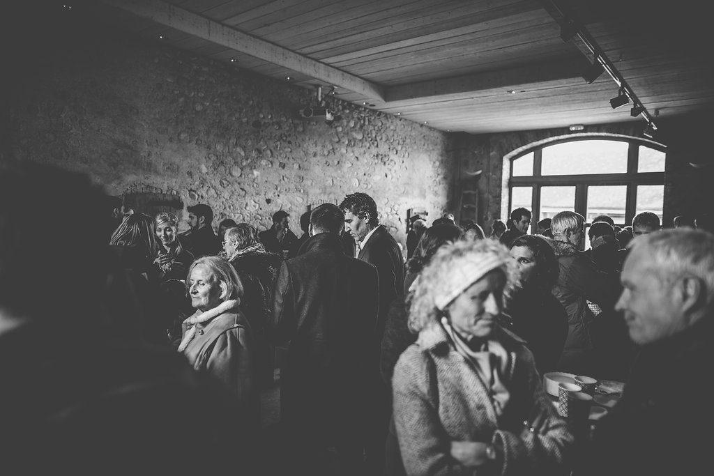 Vin d'honneur à la montagne // Photo : Margaux Vié - Studiohuit
