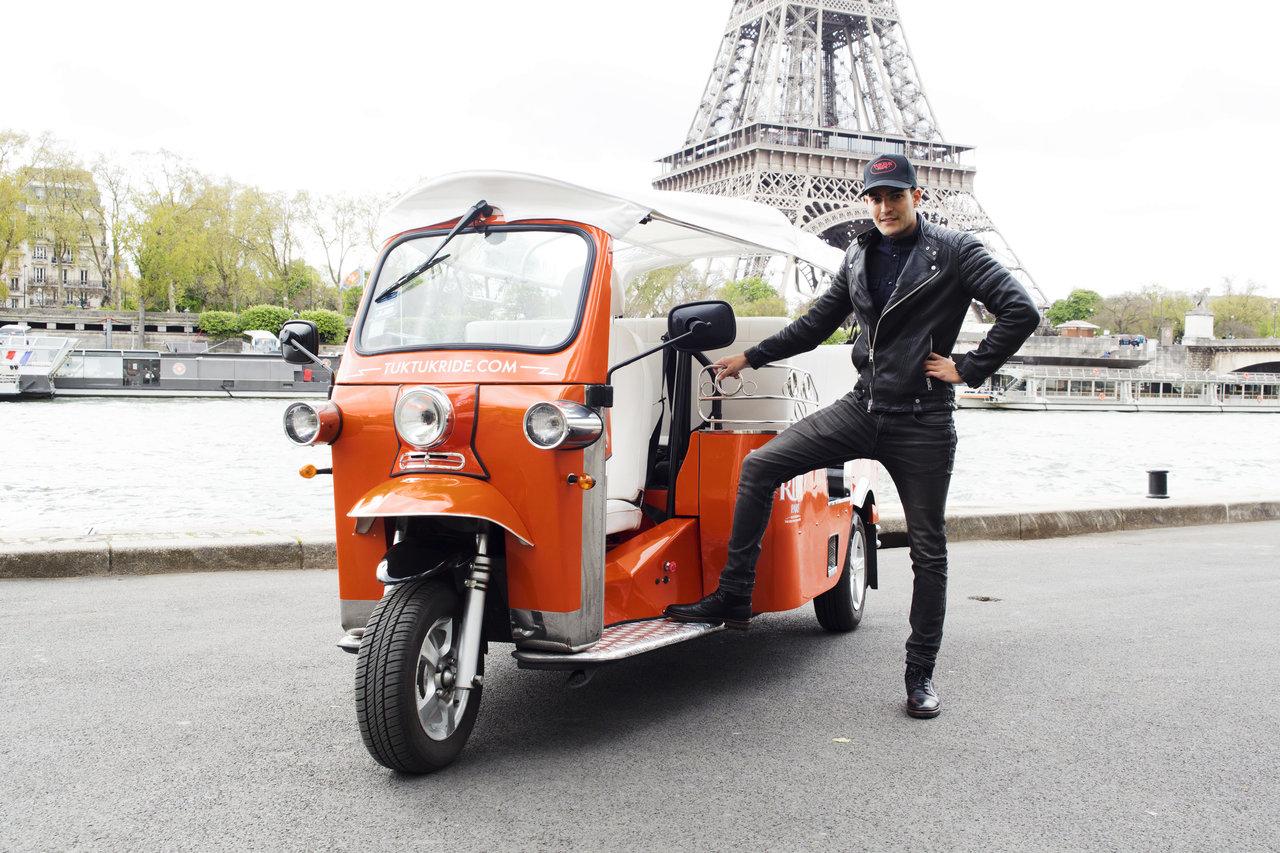 Tuktuk Ride Paris