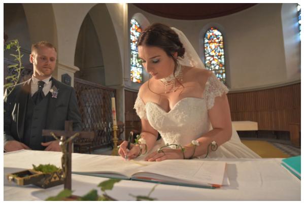 Ma bénédiction à l'église // Photo : La vie en HD