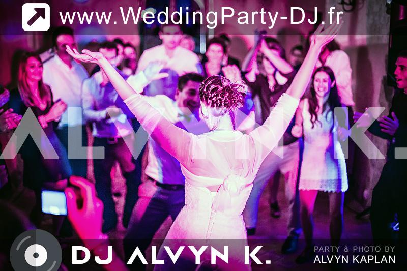 DJ Alvyn K animation musicale mariage
