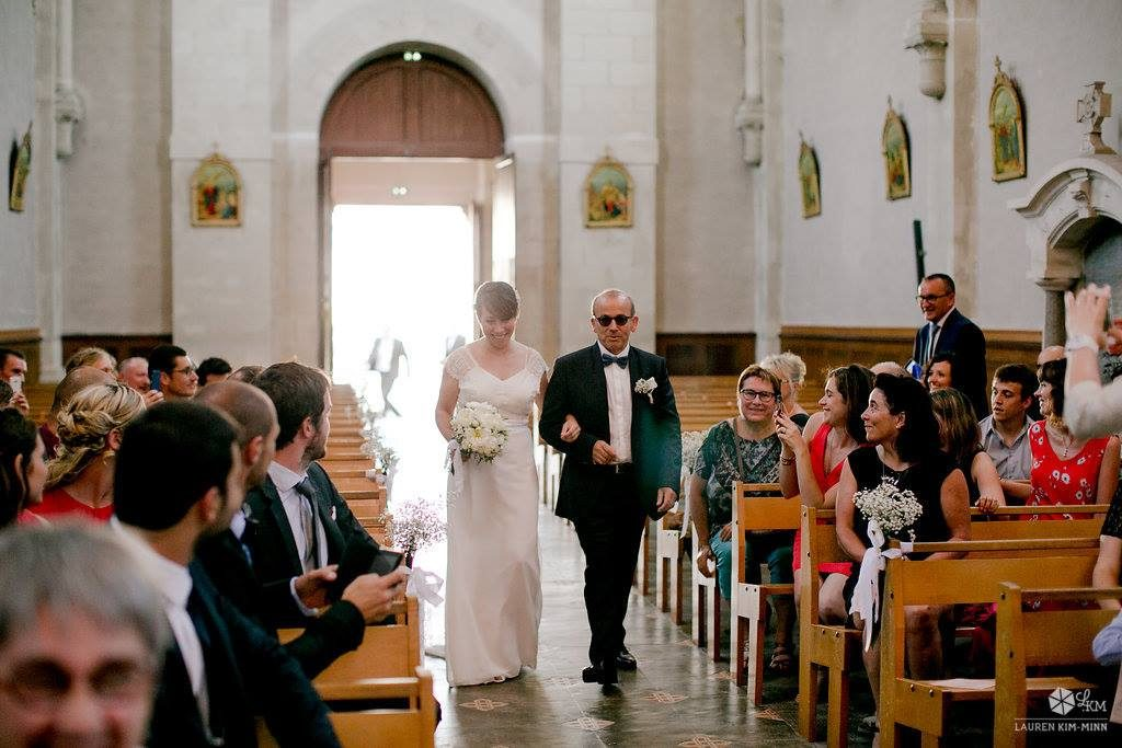 Imprévus pendant le mariage : l'entrée // Photo : Lauren Kim-Minn
